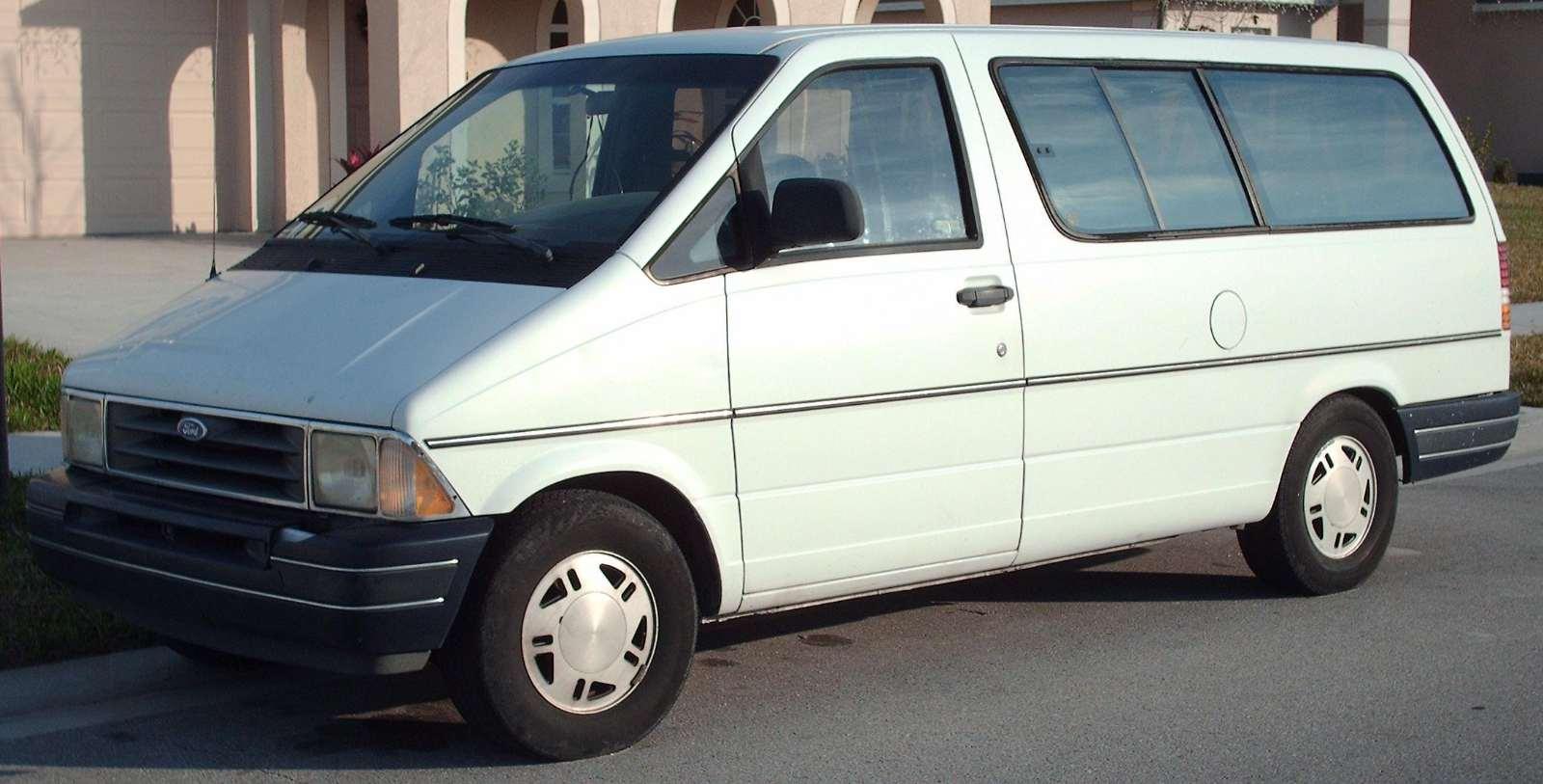 модельный ряд ford aerostar